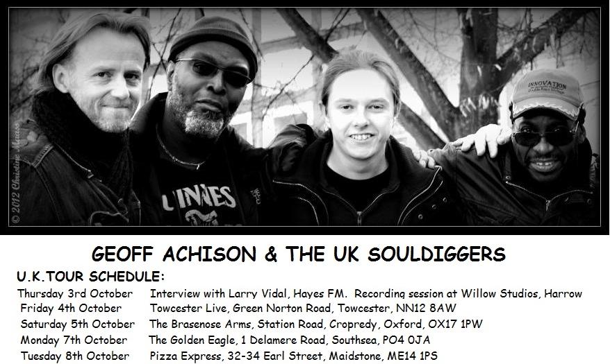 GA UK TOUR SCHEDULE 2013 2