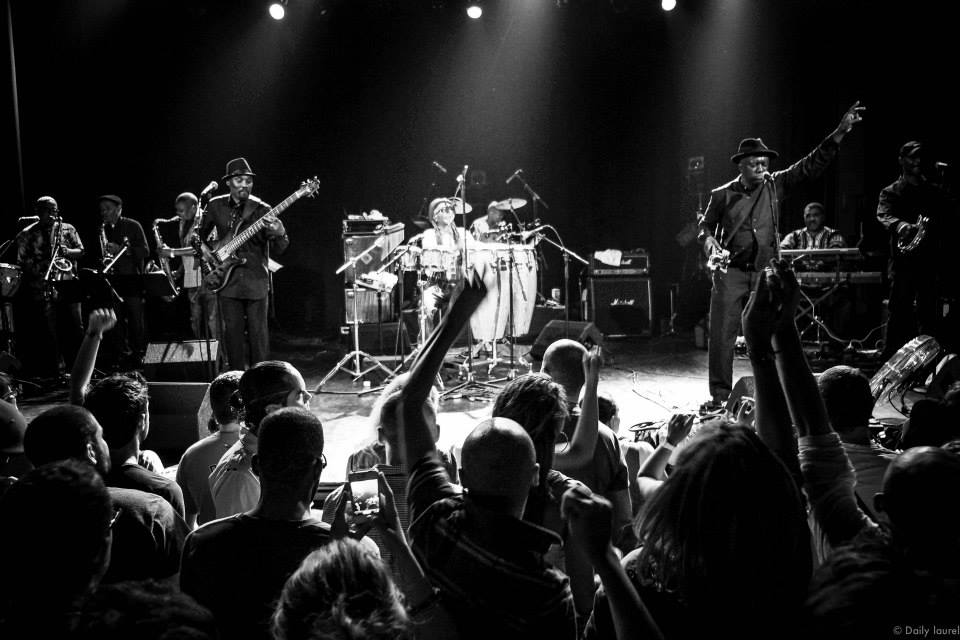 Cymande band Le T Daily Laurel
